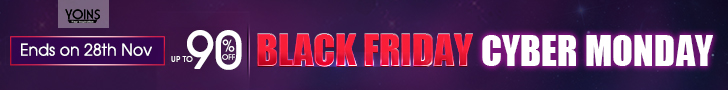 up to 90% off for Black Friday and Cyber Monday Sale
