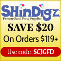 Free Shipping on Orders at Shindigz
