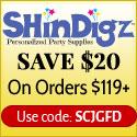Free Shipping on Orders $85+ at Shindigz