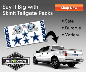 Tailgate pack 300x250