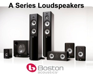 Boston Acoustics A Series Speakers