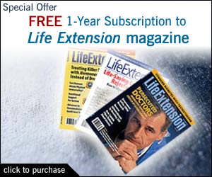 Free Subscription to Life Extension magazine