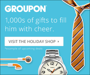 Groupon Holiday Shop