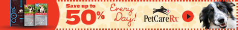 Save Up To 50% Everyday on Pet Supplies