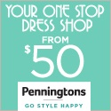 Penningtons 10% Off Banner - 125x125