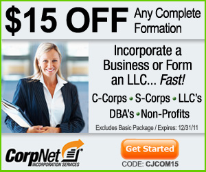 CorpNet� - The Fastest Way to Start a Business! Fr