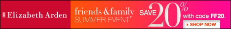 Elizabeth Arden Friends & Family: 20% Off