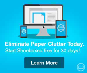 Eliminate Paper Clutter Today!