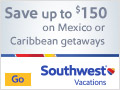 Save up to $150 on Mexico or Caribbean Getaways