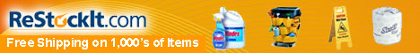 Free Shipping on 1,000's of Janitorial Supplies