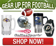 NFL football gear for all 32 NFL teams