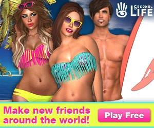 Meet someone new in the Second Life's virtual world! Join for free!