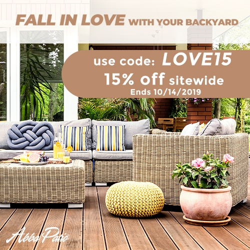 Big Sale! 15% Off Sitewide Plus Free Shipping! Use Code LOVE15. Ends 10/14/2019.