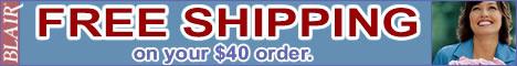 $.99 Per Item Shipping at Blair.com