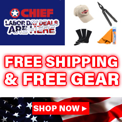 Huge Labor Day Sale @Chief!