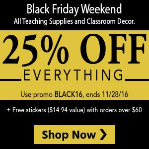 Black Friday Teaching Discounts