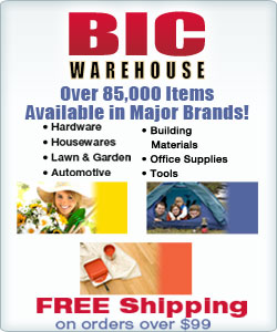 Shop Bic Warehouse Over 86,000 Items Available