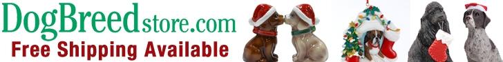 Holiday Gifts at DogBreedStore.com