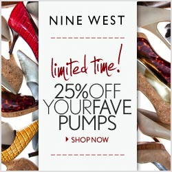 Nine West Pump Sale - 25% off