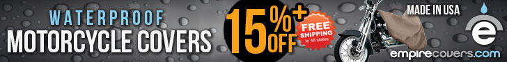 EmpireCovers 15% Off Motorcycle Covers
