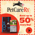 Save Up To 50% Everyday on pet care and medications!