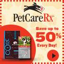 Save Up To 50% Everyday! PetCareRx