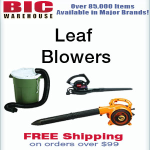 We have Leaf Blowers