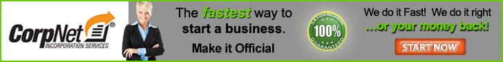 CorpNet� - The Fastest Way to Start a Business