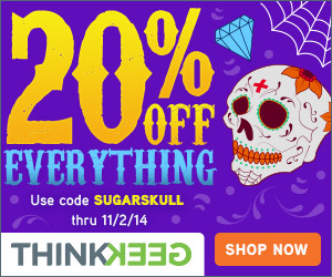 20% Off Everything! when you use the code SUGARSKULL at checkout. This code ends EOD 11/2