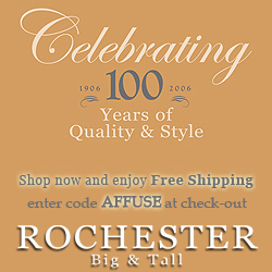 Free Shipping at Rochester Big and Tall!