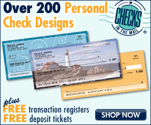 Checks In The Mail� Bank Check Designs