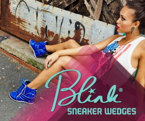 Blink Sneaker Wedges at Heels.com