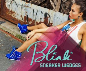 Blink Sneaker Wedges at Heels.com