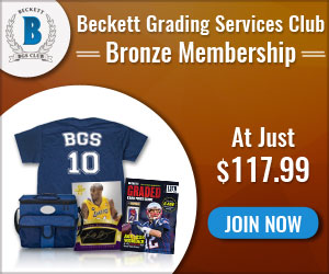 Beckett Media Grading