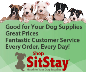 Shop SitStay, Good for Your Dog Supplies