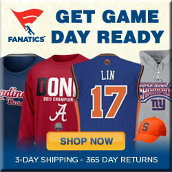 Shop for officially licensed Game Day Gear!