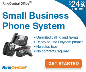 Get RingCentral Office - $24.99/mo. per user