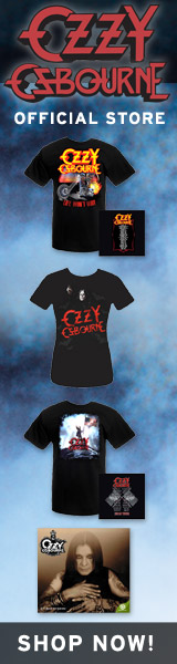 Ozzy Osbourne Official Merchandise