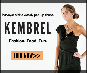 Purveyor of fine weekly pop-up shops. Kembrel.
