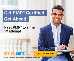 300x250 PMP Certification Training Course - First Attempt