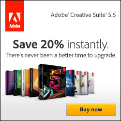 Adobe: Save 20% Instantly