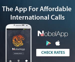 NobelApp - The App for affordable international calls.