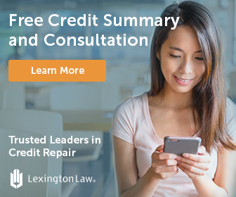 Get your free credit repair consultation with Lexington Law today!