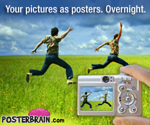Your Pictures As Posters. Overnight.