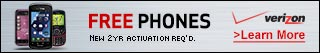 Free Phones at Verizon Wireless!