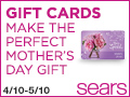 mothers day at sear