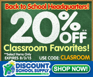 Save 20% Off Select Classroom Favorites & Get Free Shipping On Orders Over $79
