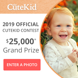Be the 2018 CuteKid Winner!, Submit your cute kid photo for a chance to win cash and prizes. Promotion ends 12/31. Enter Now!