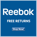 Reebok - Free Returns for Hassle-Free Shopping