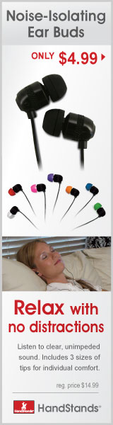 Q:Electronics Noise-Isolating Ear Buds